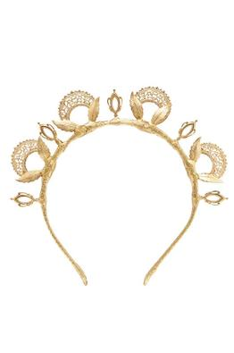 Heather-McDowall-Misha-Brass-Leaf-Crown