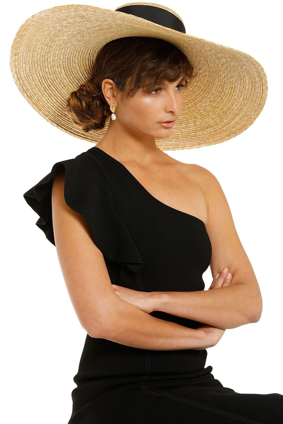 Heather-McDowall-Daniella-Oversized-Hat-Black-Product-One