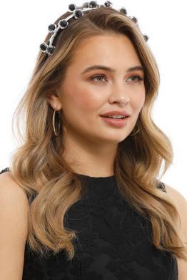 Heather McDowall - Annabelle Headpiece - Black - Product