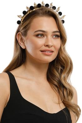 Heather McDowall - Ella Headband - Black - Product