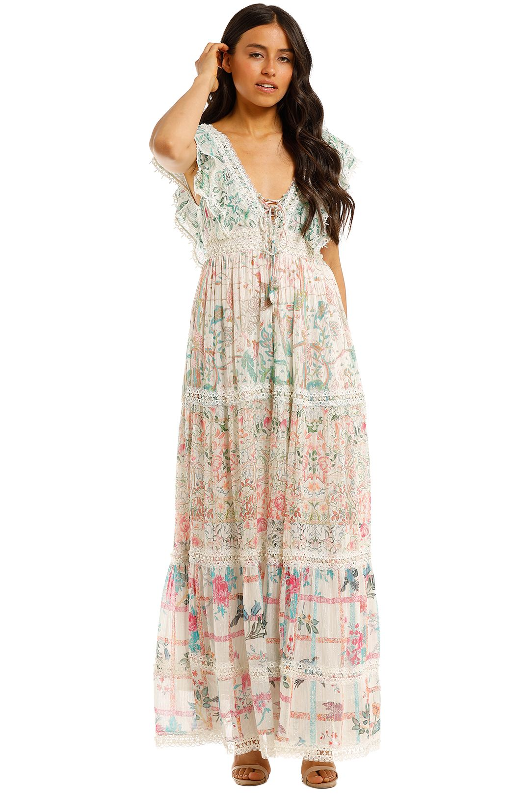 Hemant-Nandita-Cosmic-Maxi-Dress-Print-Front