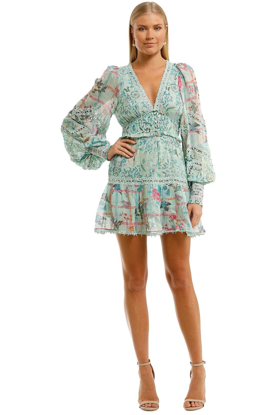 Hemant & Nandita Cosmic Short Dress Mini