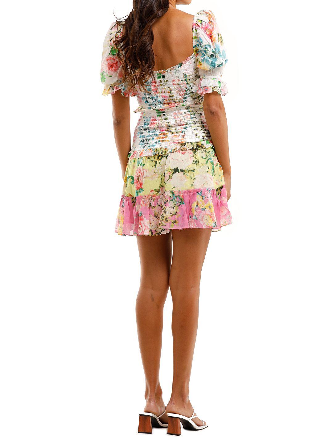 Hemant & Nandita Jolie Mini Dress Floral