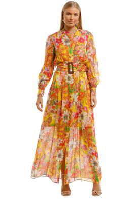 Hemant & Nandita Misaki Shirt Dress Boho Print