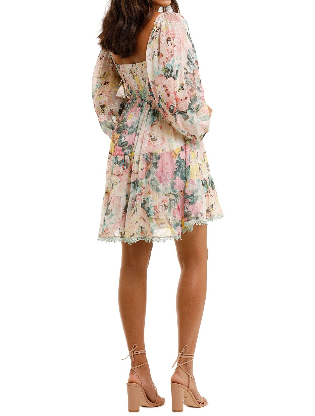 Hemant & Nandita Teien Dress Floral