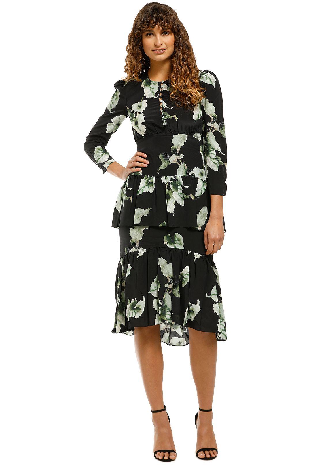 Husk-Amazon-Dress-Leaf-Print-Front