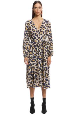 Husk - Talitha Dress - Leopard - Front