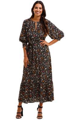 Husk Carnaby Dress Print Midi Dress