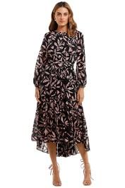 Husk Fable Dress Print floral crew