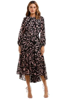 Husk Fable Dress Print floral crew