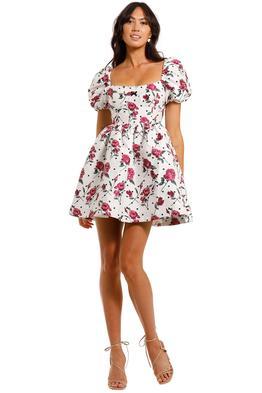 For Love and Lemons Bobbie Floral Party Dress mini