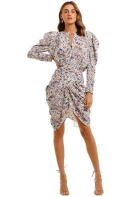 Isabel Marant Margaretia Short Dress abstract print
