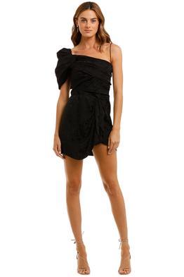 Isabel Marant Vetrae One Shoulder Mini Dress