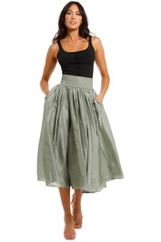 JAC + JACK Dos Maxi Skirt high midi