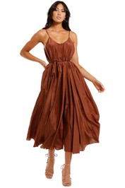 JAC + JACK Luvis Maxi Dress Andies full skirt
