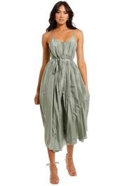 JAC + JACK Luvis Maxi Dress Loden scoop