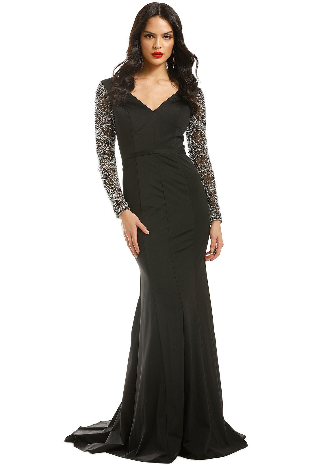 Jadore-Elizabeth-Gown-Black-Front