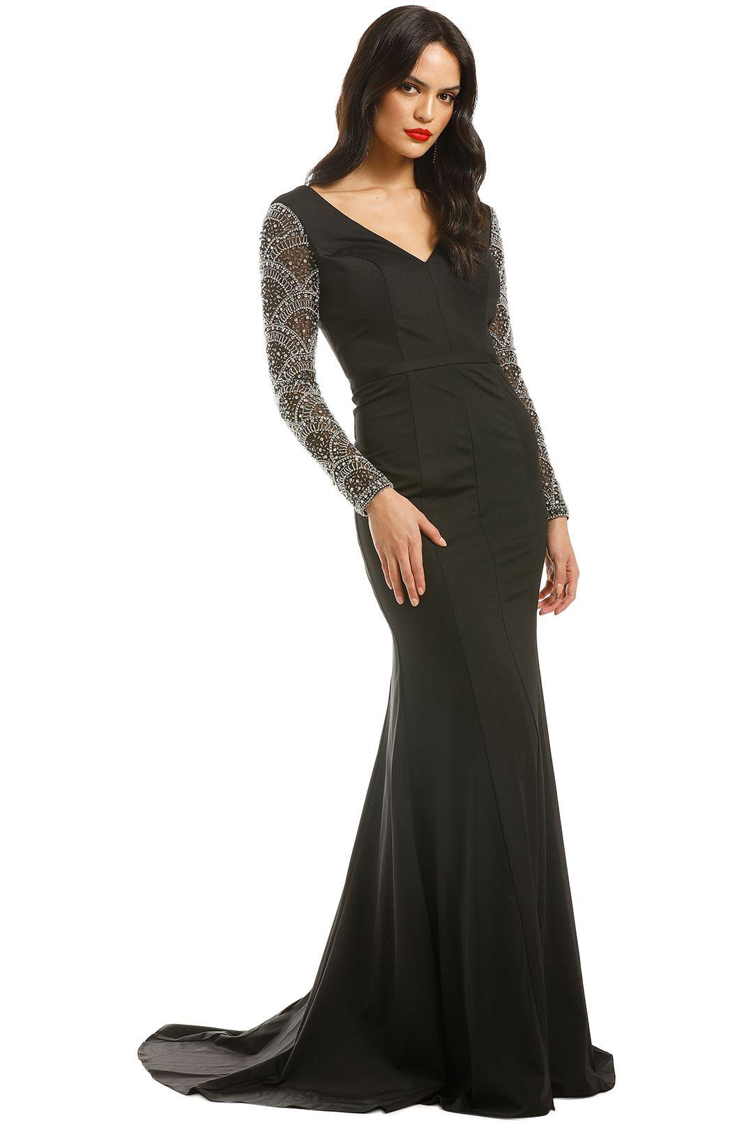 Jadore-Elizabeth-Gown-Black-Side
