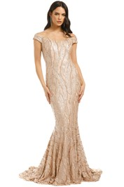 Jadore-Kayley-Gown-Champagne-Front