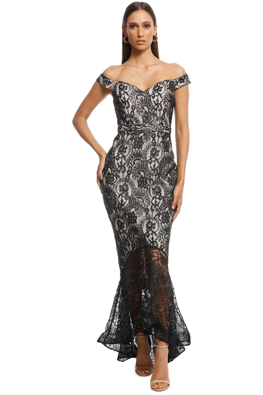 Jadore - Candy Dress - Black - Front