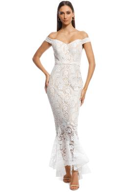 Jadore - Candy Dress - Ivory - Front