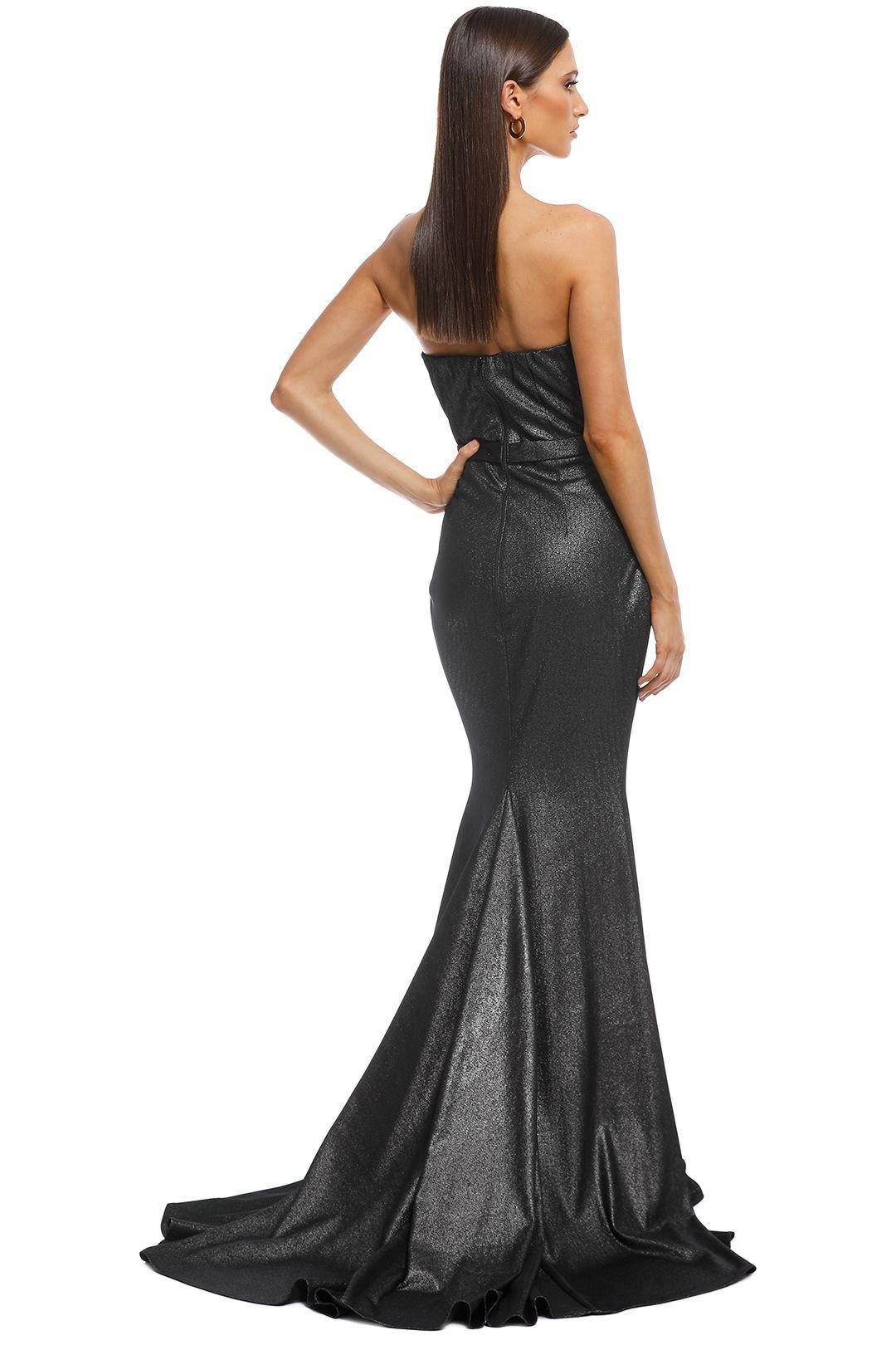 Jadore - Lucille Gown - Platinum - Back