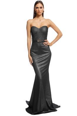 Jadore - Lucille Gown - Platinum - Front