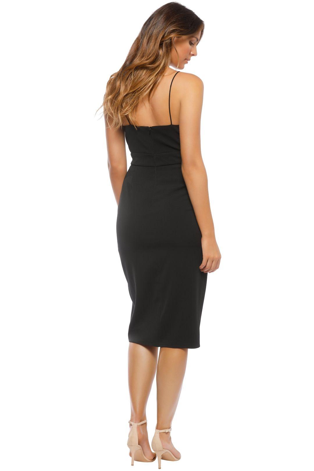 Jay Godfrey - Roper Dress - Black - Back
