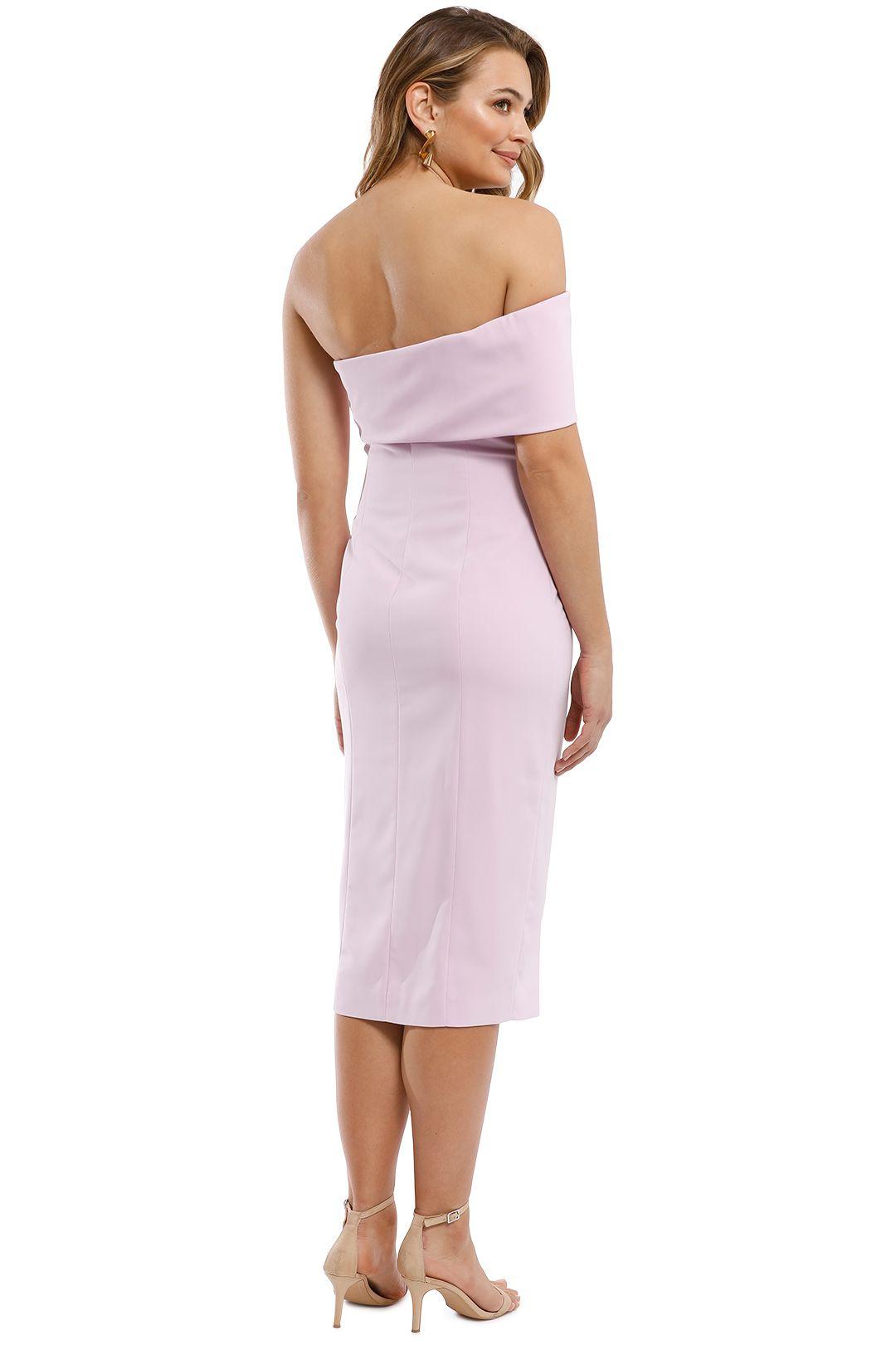 Jay Godfrey - Surrey Midi Dress - Lilac - Back