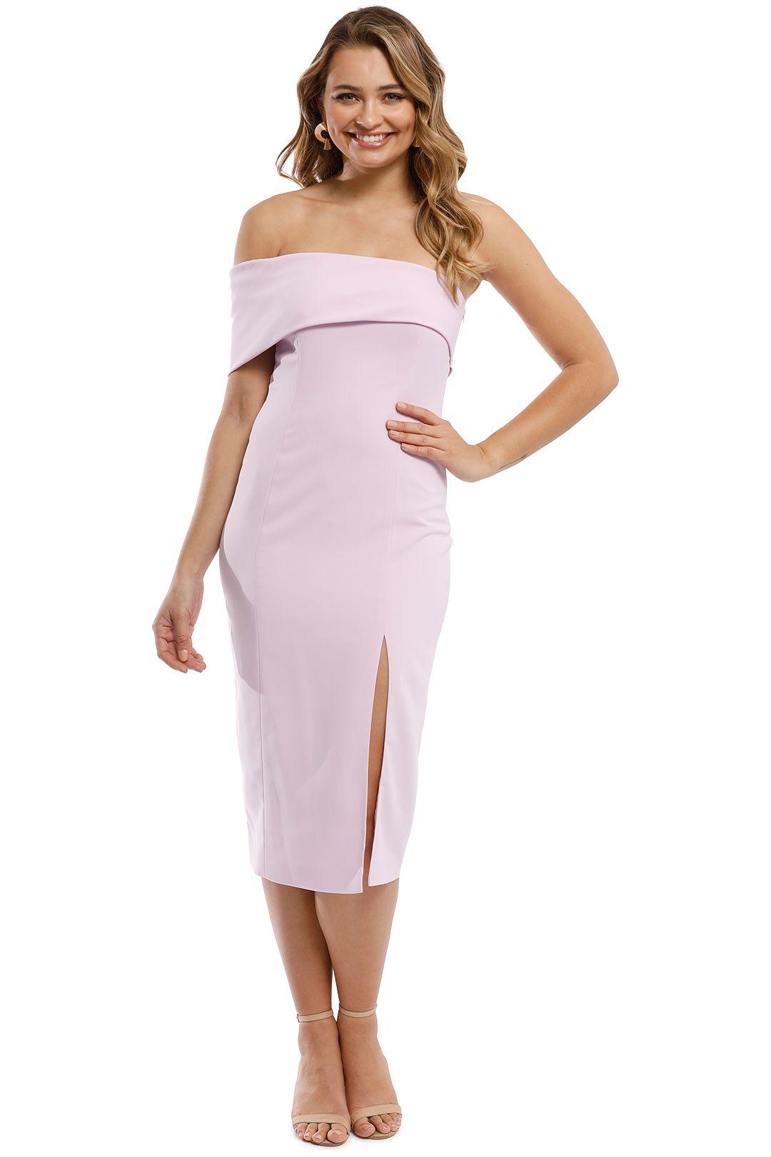 Jay Godfrey - Surrey Midi Dress - Lilac - Front