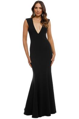 Jay Godfrey - Victoria Light Dress - Black - Front