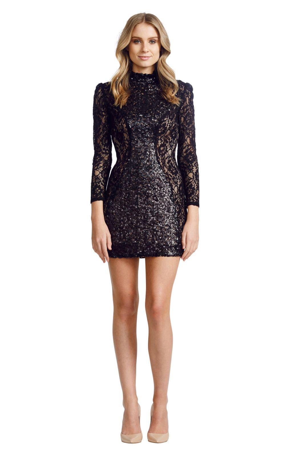 Jayson Brunsdon - Opulent Dress - Black - Front