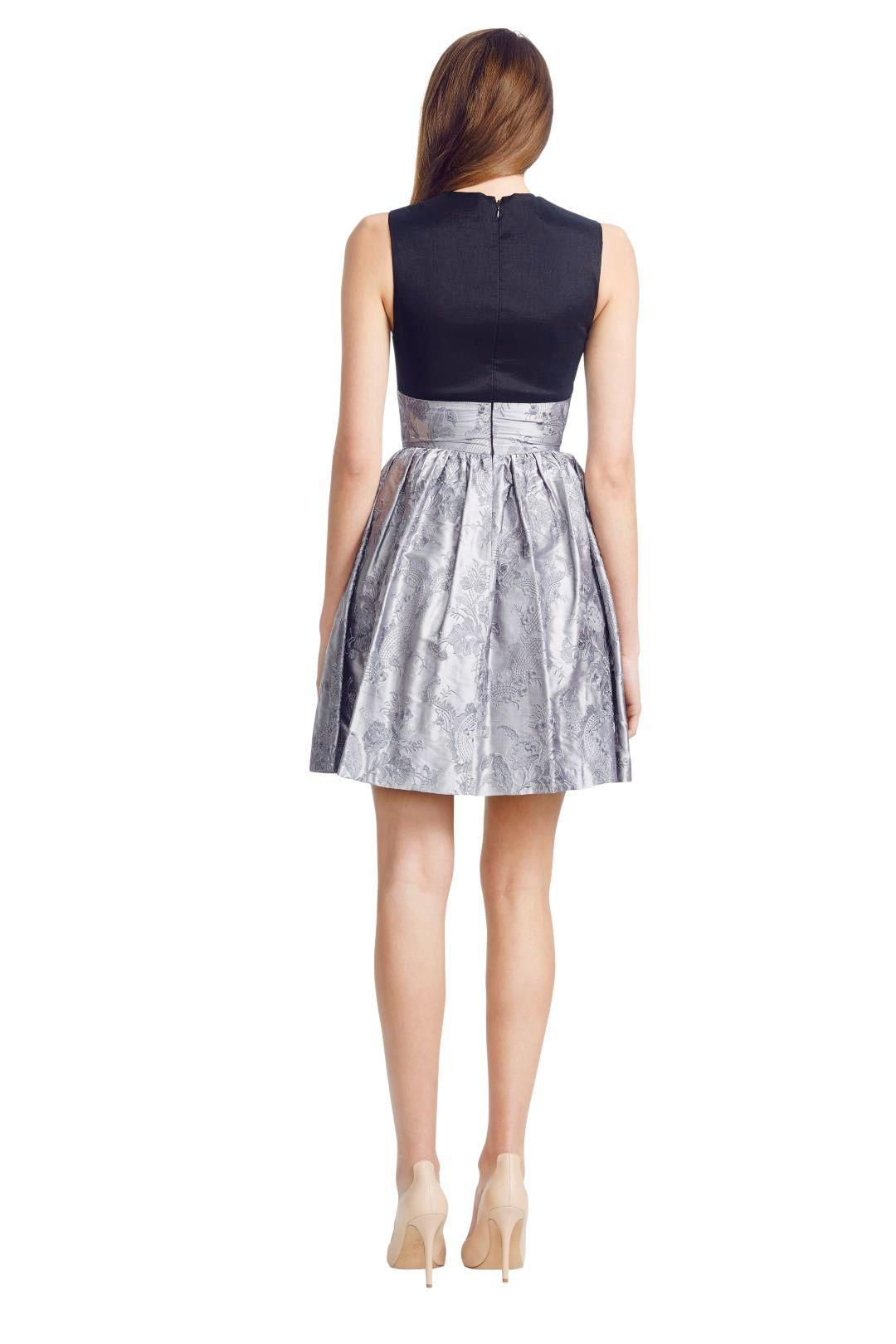 Jayson Brunsdon - Pompadour Dress - Black - Back