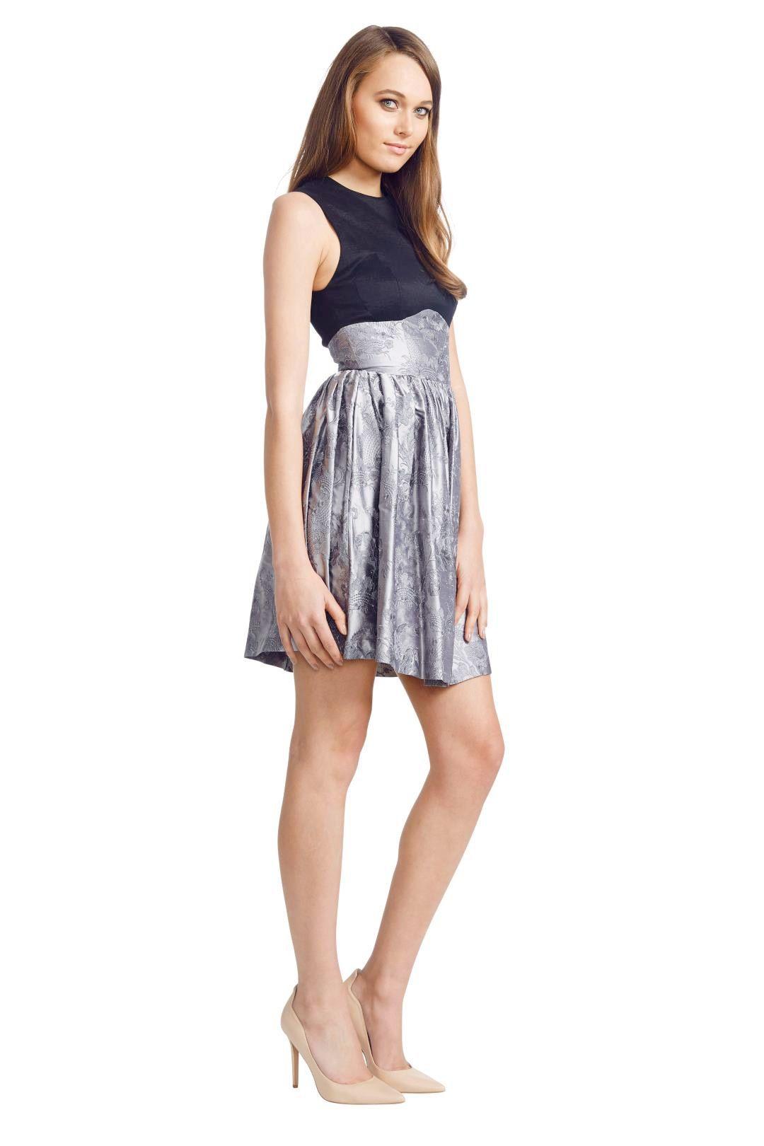 Jayson Brunsdon - Pompadour Dress - Black - Side