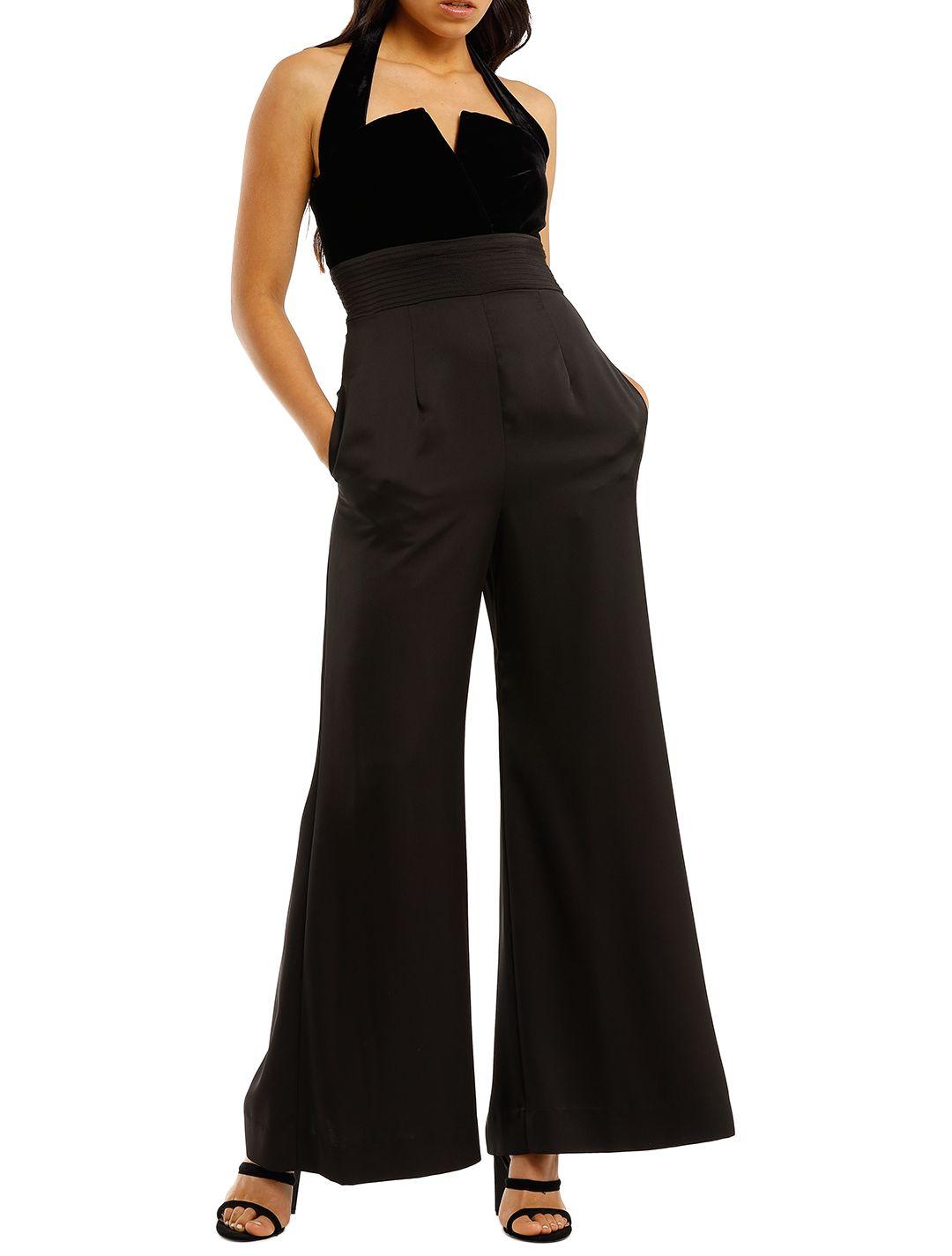 Jill-Jill-Stuart-Black-Velvet-Jumpsuit-Front