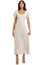 Jillian Boustred Natasha Maxi Dress scoop