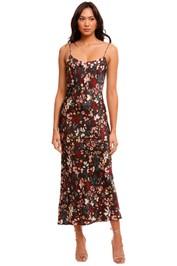 Jillian Boustred Ollie Slip Dress Floral