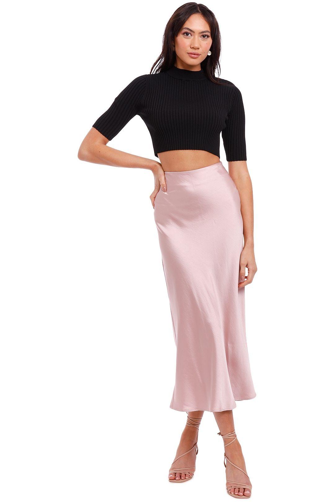 Jillian Boustred Scarlet Slip Skirt