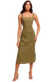 Jillian Boustred Valerie Dress backless