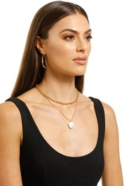 Jolie-and-Deen-Round-Pearl-and-Chain Neck-Product
