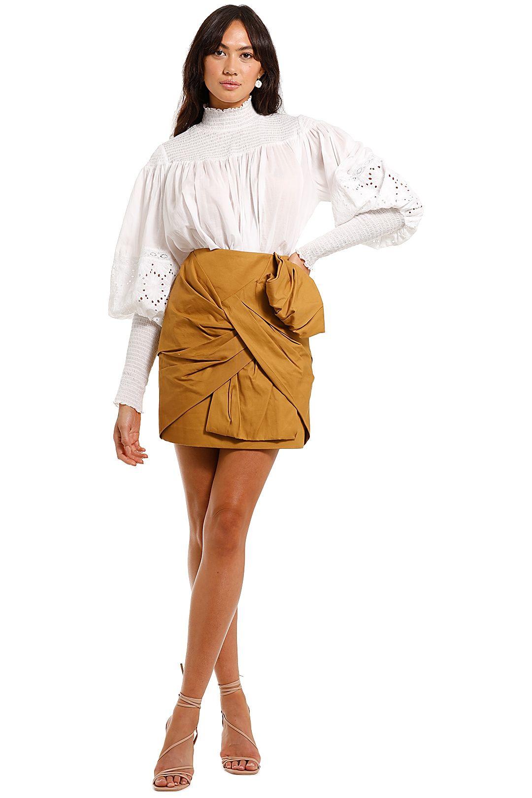 Joslin Lucianna Linen Cotton Top