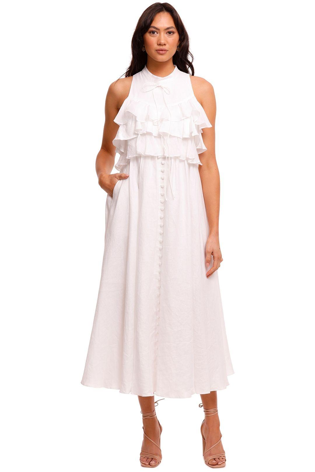 Joslin Sasha Linen Midi Dress