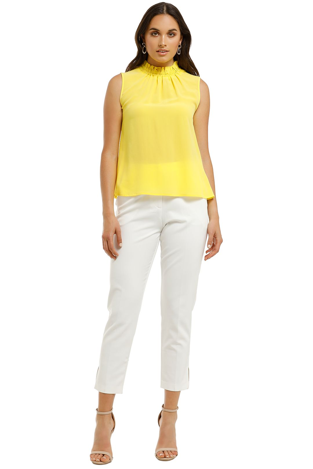 Kate-Sylvester-Cara-Top-Yellow-Front