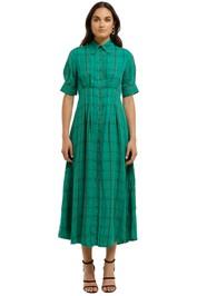 Kate-Sylvester-Lee Dress-Green-Front
