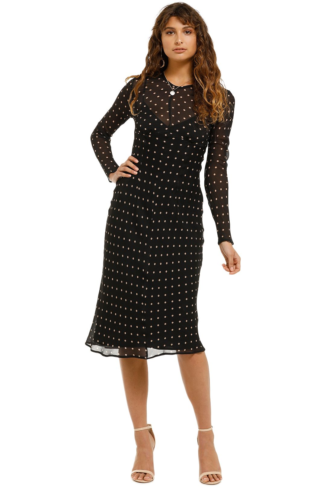Kate-Sylvester-Maeve-Dress-Black-Front