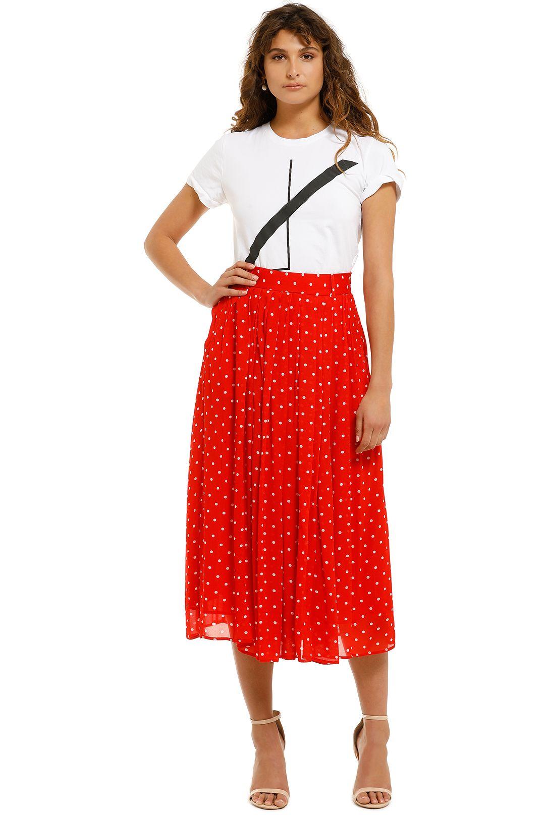 Kate-Sylvester-Martha-Skirt-Red-Front