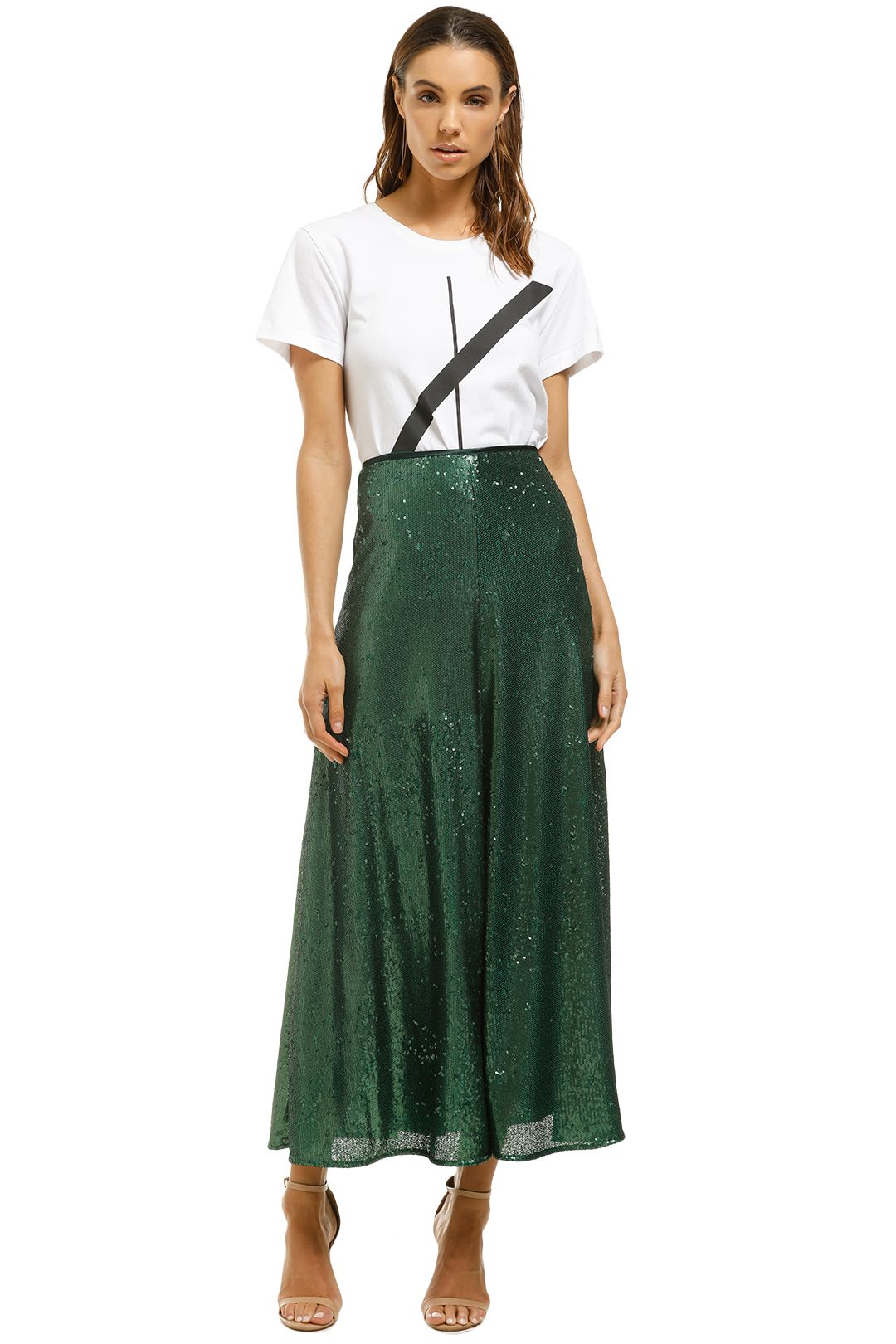 Kate-Sylvester-Odell-Skirt-Green-Front