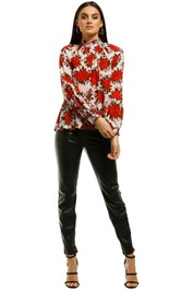 Kate-Sylvester-Rose-Top-Red-Front