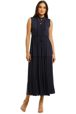 Kate-Sylvester-Sea-Breeze-Tea-Dress-Navy-Front