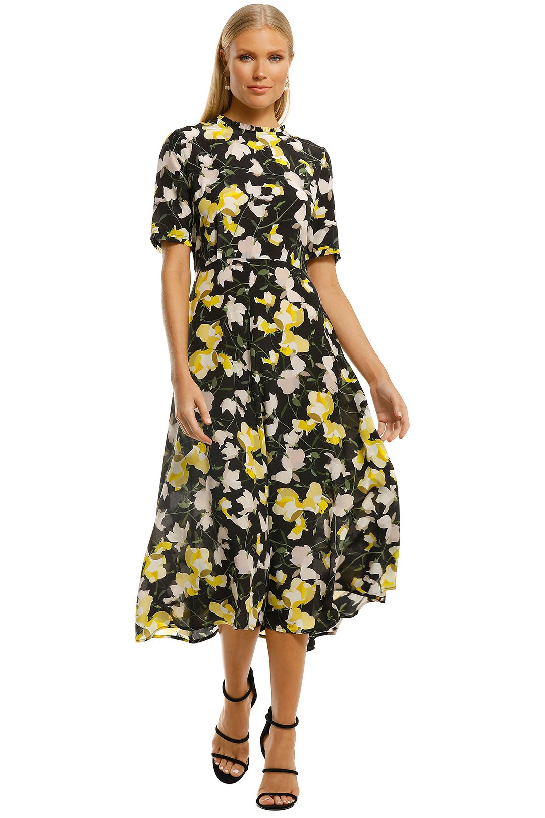 Kate-Sylvester-Sibilla-Dress-Black-Lemons-Front